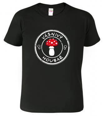 vtipné houbařské tričko s mochomůrkou