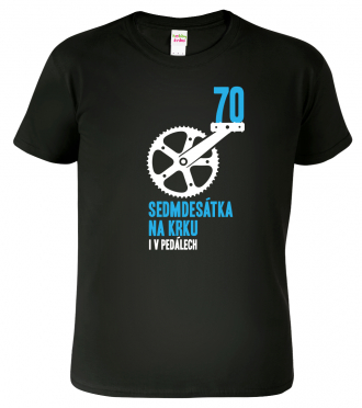 Tričko k 70. narozeninám