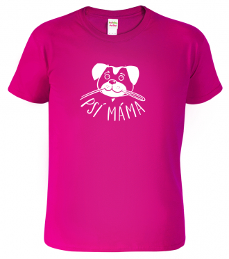 Dětské tričko se psem - Psí máma
