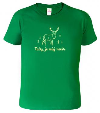 Dětské myslivecké tričko s jelenem