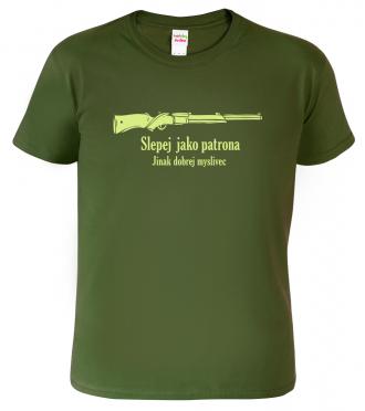 Vtipné tričko pro myslivce