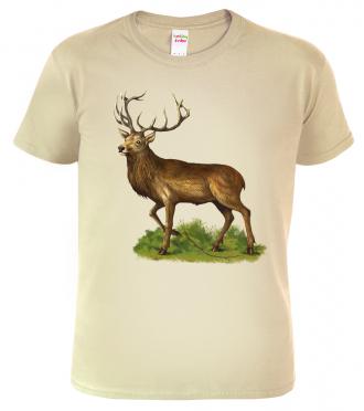 Tričko pro myslivce s jelen 2