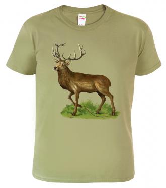 Tričko pro myslivce - Jelen