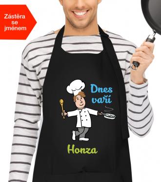 Zástěra na vaření pro muže