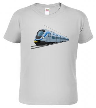 Tričko s vlakem