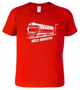 Dětské tričko s vlakem - Lokomotiva BARDOTKA