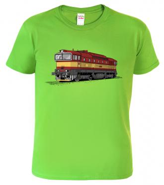 Dětské tričko s vlakem - Lokomotiva Brejlovec