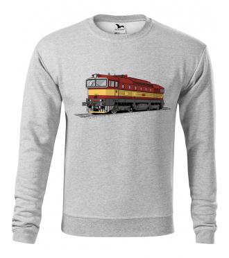 Mikina s lokomotivou