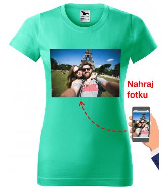 Tričko s fotkou