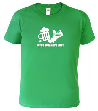 Vtipné tričko pro fotbalisty a pivaře