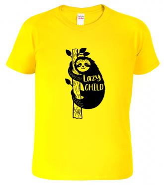 Dětské tričko s lenochodem