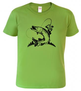Tričko s potiskem pro rybáře