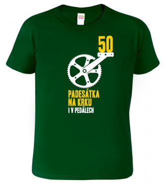 Pánské tričko pro cyklistu - Padesátka na krku (SLEVA)