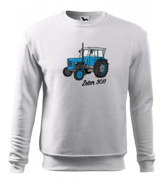 Mikina s traktorem