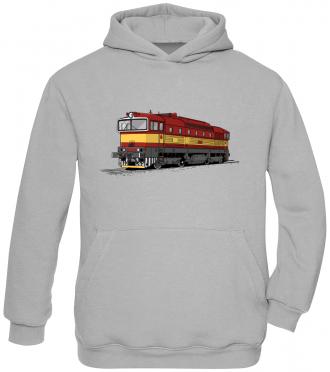 Dětská mikina s vlakem