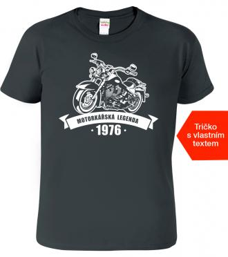 Tričko k narozeninám pro motorkáře