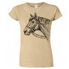 Dámské tričko s koněm