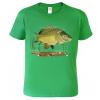 tričko pro rybáře s kaprem