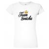 Dámské svatební tričko - Team ženicha (koruna)