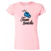 vtipné dámské dvatební tričko - Team ženicha