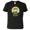 Tričko s houbou - dárky pro houbaře