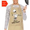 kuchařská zástěra pro muže se jménem