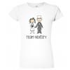 Dámské svatební tričko - Team nevěsty (figurka)