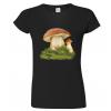 Dámské houbařské tričko s houbou