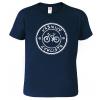 Tričko pro páry - Vášnivý cyklista