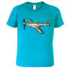 Tričko s letadlem - P-51 Mustang