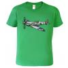 Tričko s letadlem - Spitfire