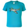 Dětské tričko s letadlem - P-51 Mustang