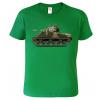 Dětské tričko s tankem - Sherman