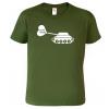 Tričko s tankem -  Love Tanks