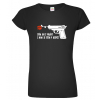 Dámské vojenské tričko - Spím jen s vojáky
