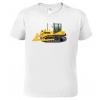 Tričko s bagrem - buldozer
