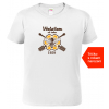 Tričko pro včelaře Včelařem od roku bílé