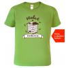 Tričko pro včelaře Včelař z. kiwi