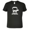 Tričko pro řidiče autobusu Nejlepší autobusák Black