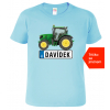 Dětské tričko s traktorem a jménem - Traktor SPZ