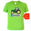 Dětské tričko s traktorem