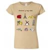 Dámské cestovatelské tričko