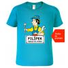 Dětské tričko se jménem - Šikula po tátovi