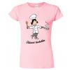 Tričko pro kuchařku - Vášnivá kuchařka