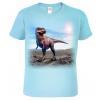 Dětské tričko s dinosaurem - Tyrannosaurus 3D