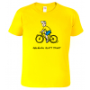 Vtipné cyklo tričko