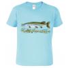 Dětské rybářské tričko - Štika obecná