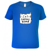 Dětské chlapecké tričko s kočkou