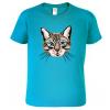 Dětské tričko s kočkou