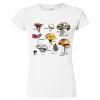 Tričko s houbami